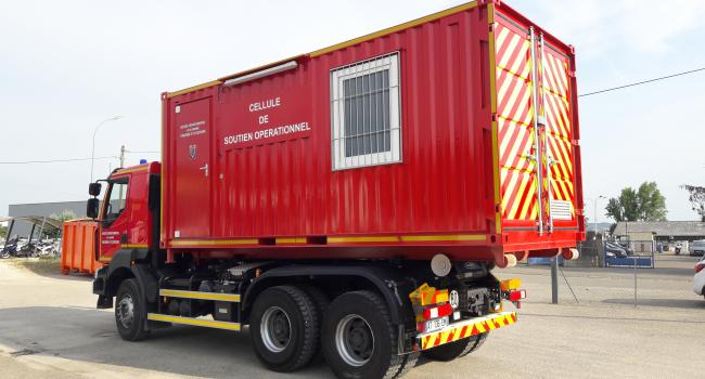 Container air respirable sur berce